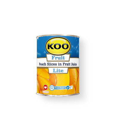 Koo Lite Peach Slices