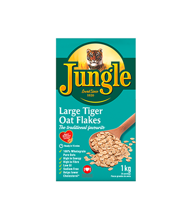 Large Tiger Oat Flakes